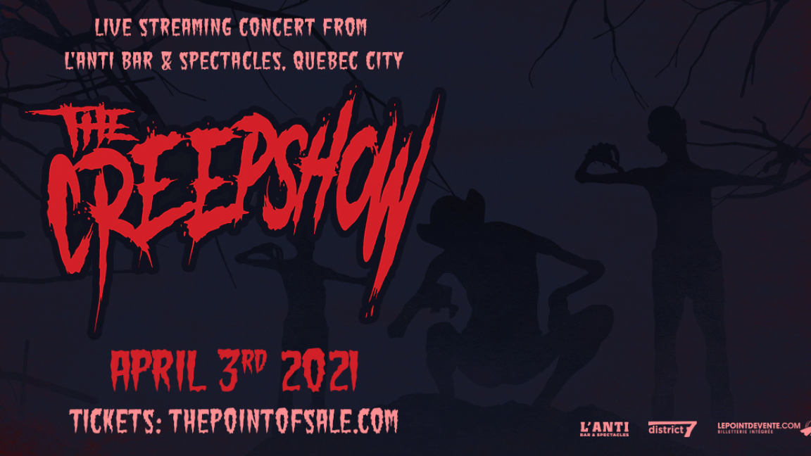 The Creepshow - Live stream concert