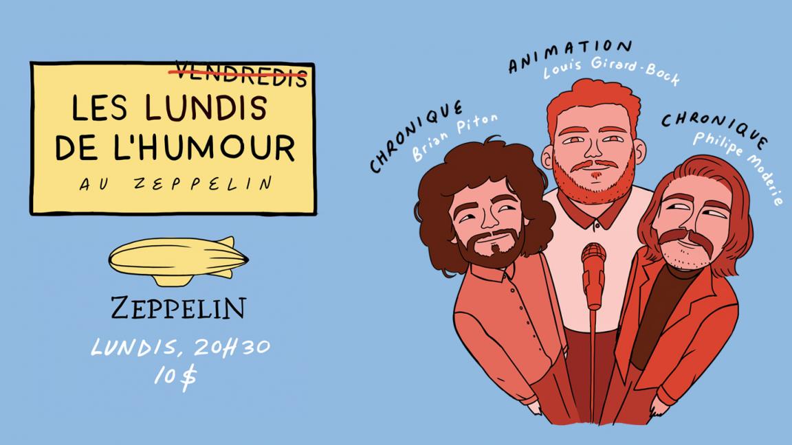 Les lundis de l'humour au Zeppelin