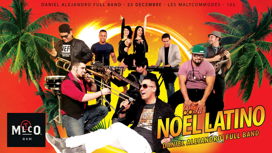 NOËL LATINO 2019 | D.A. Full Band