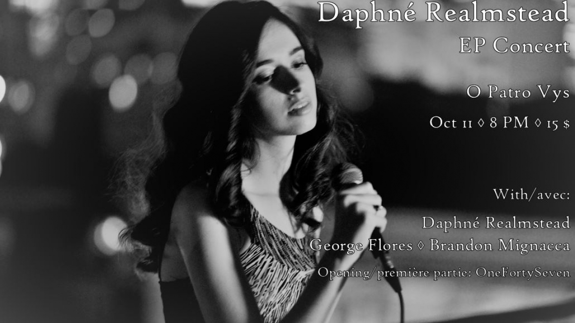 Daphné Realmstead EP launch concert