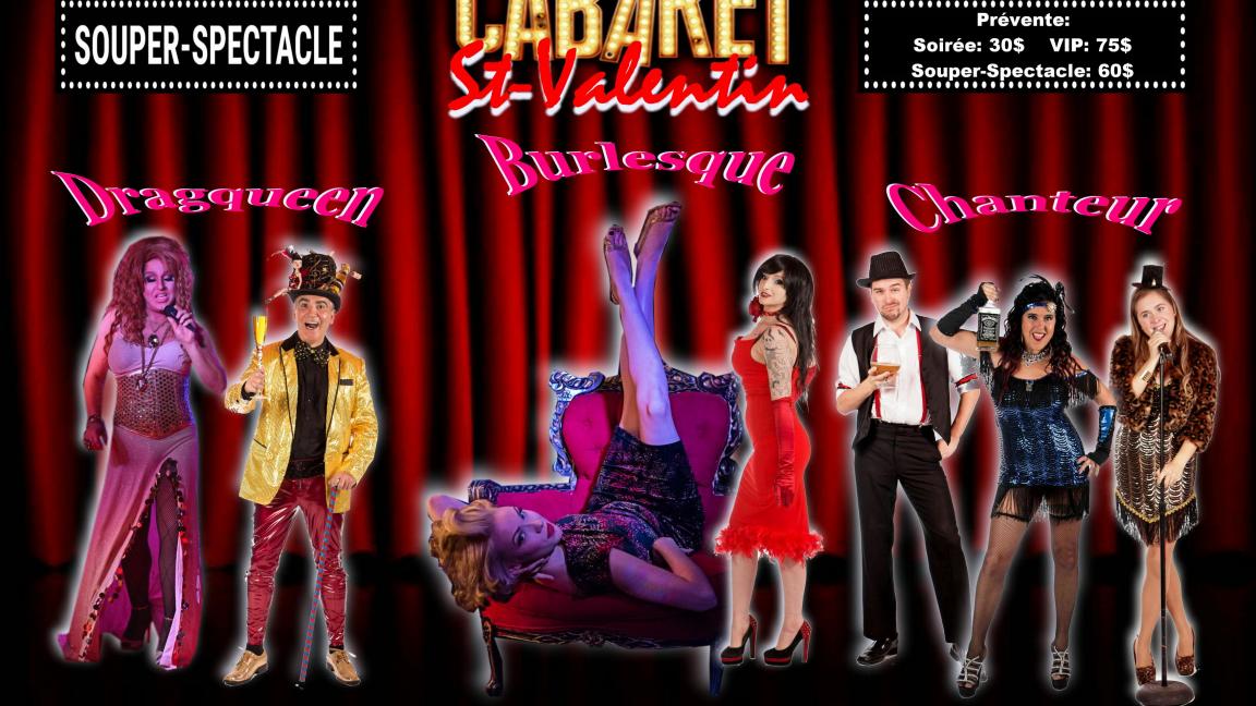 Cabaret Burlesque St-Valentin