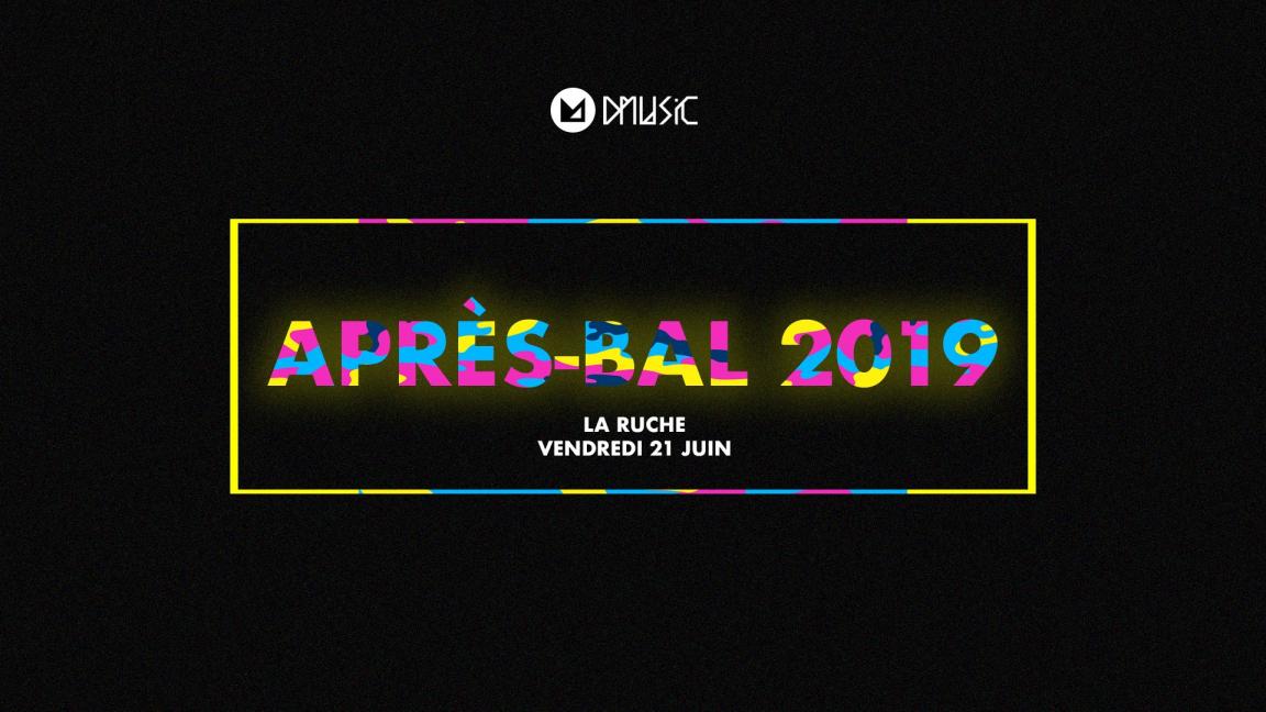 APRÈS-BAL 2019