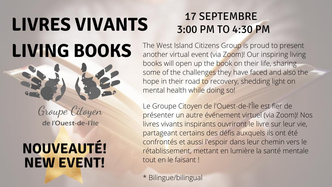 Livres ouverts / Living books