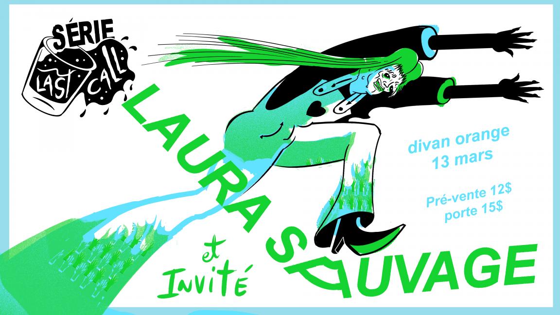Last-Call Divan Orange // Laura Sauvage + invité spécial