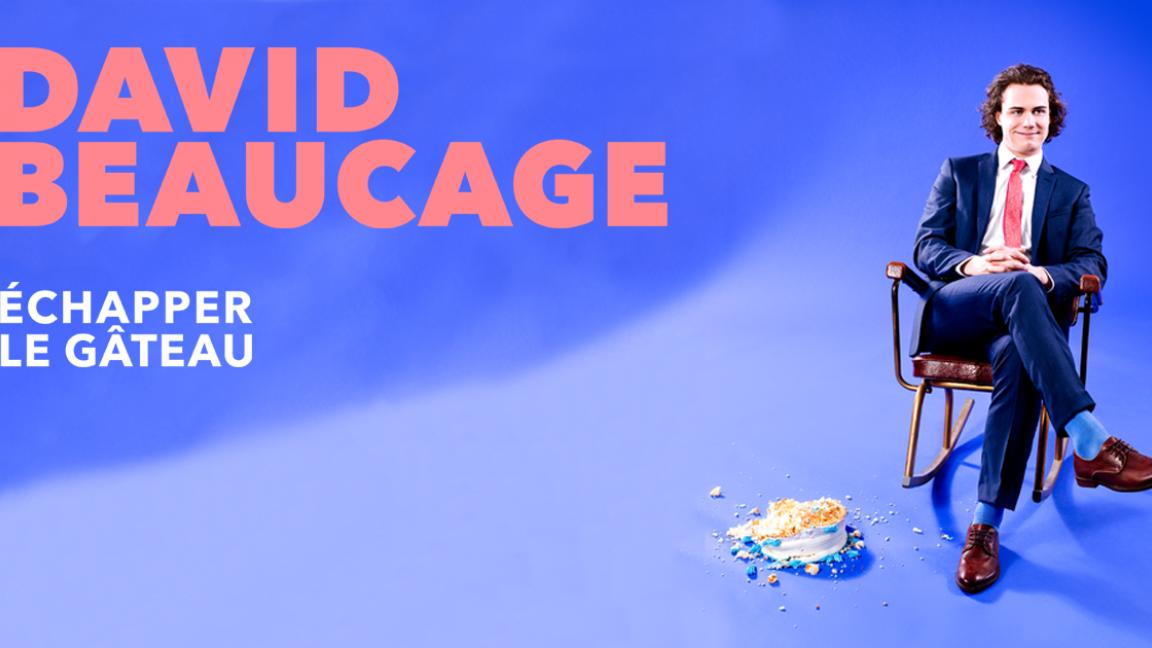 David Beaucage | Échapper le gâteau | 22 mai à Gatineau