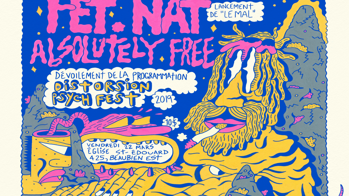 Red Mass + Fet Nat + Absolutely Free + Lancement de Distorsion 2019
