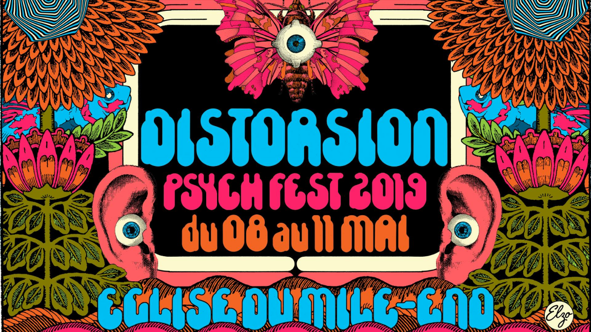 DISTORSION Psych Fest 2019