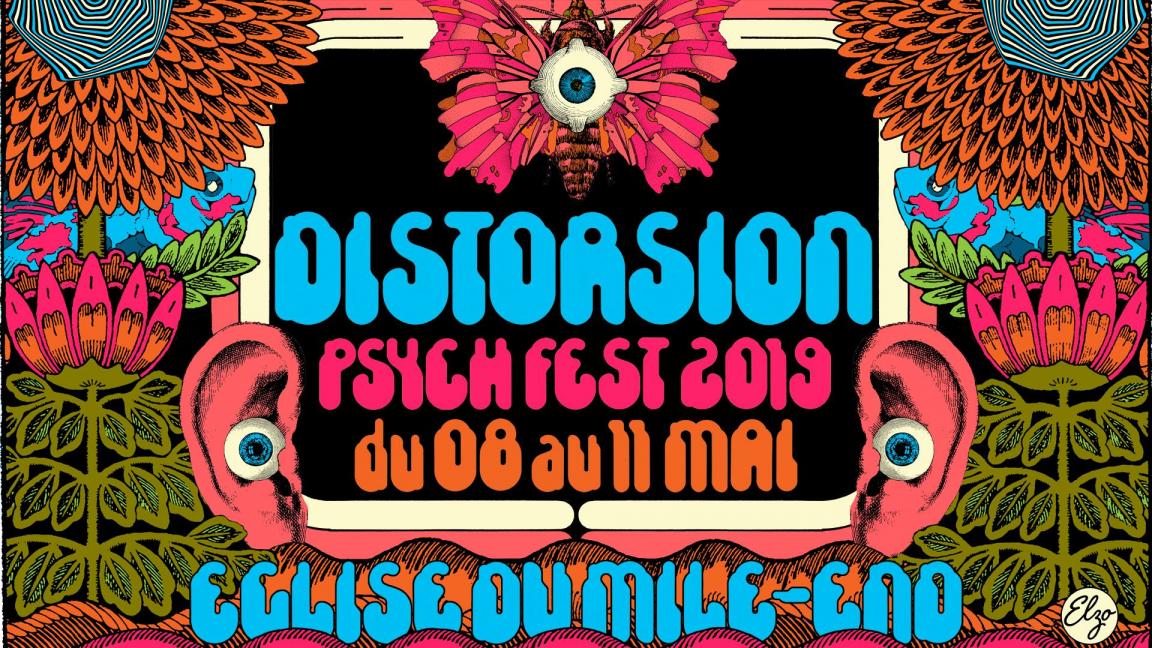 DISTORSION Psych Fest 2019