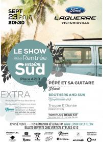 Show de la Rentrée 2016 (Victoriaville)