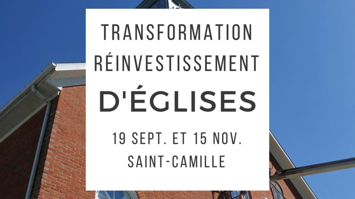 Réinvestissement et transformations d'églises