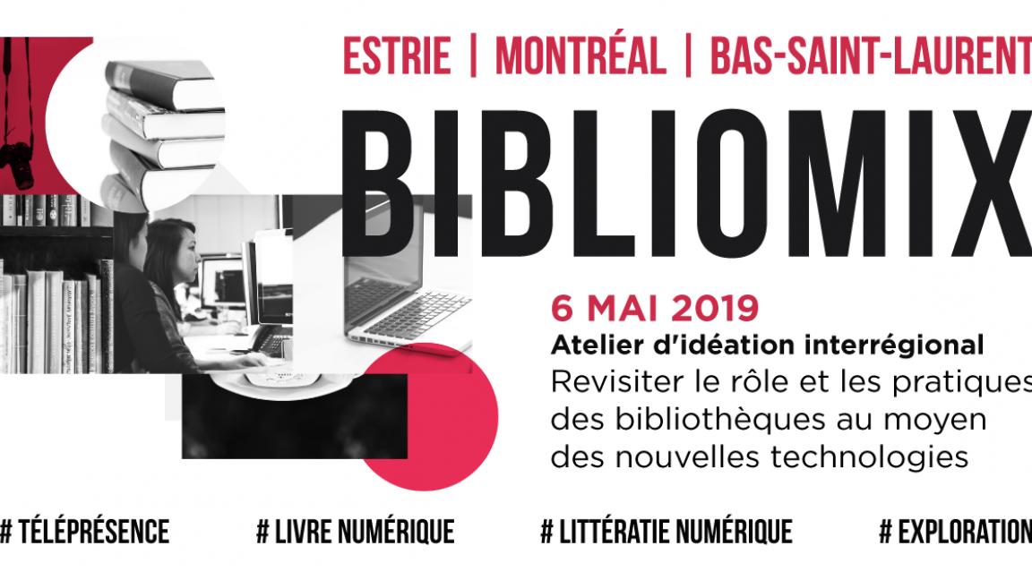 BiblioMix : revisiter le rôle et les usages des nouvelles technologies dans les bibliothèques publiques