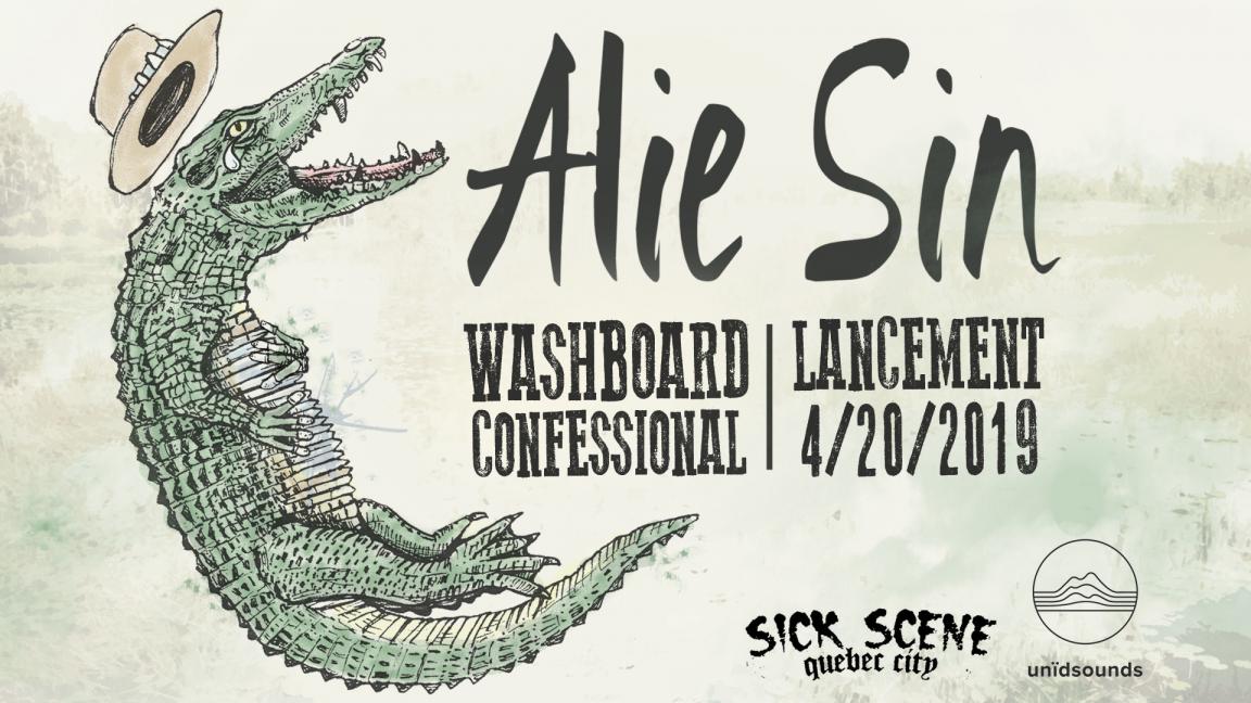 Alie Sin (Lancement d'album : Washboard Confessional)