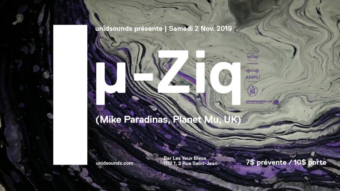 u-Ziq (Mike Paradinas) Live