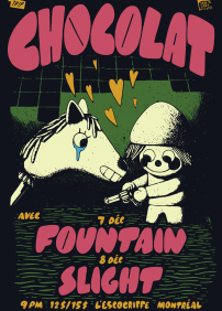 Chocolat + Fountain - L'Escogriffe