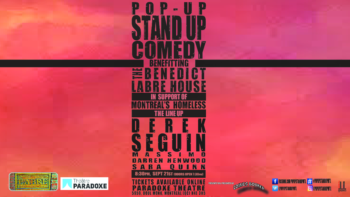 Pop-Up Stand Up Comedy