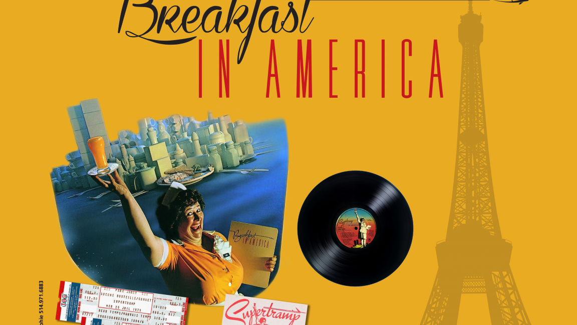Tramp of the Century: La Tournée Breakfast in America
