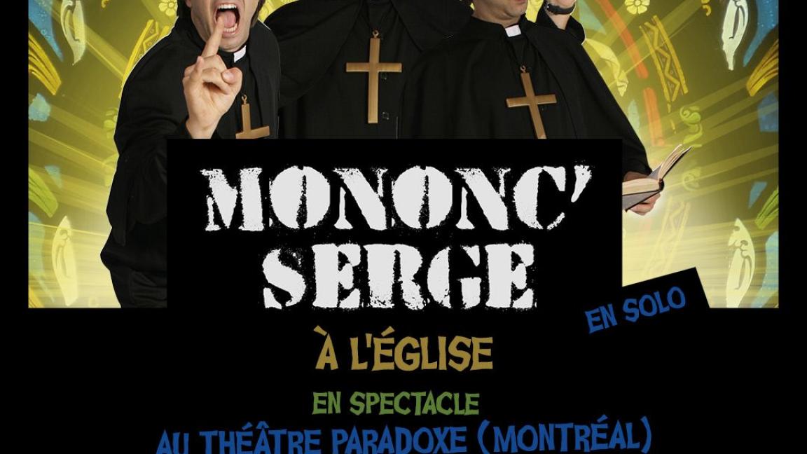 Mononc Serge (en solo) à L'église