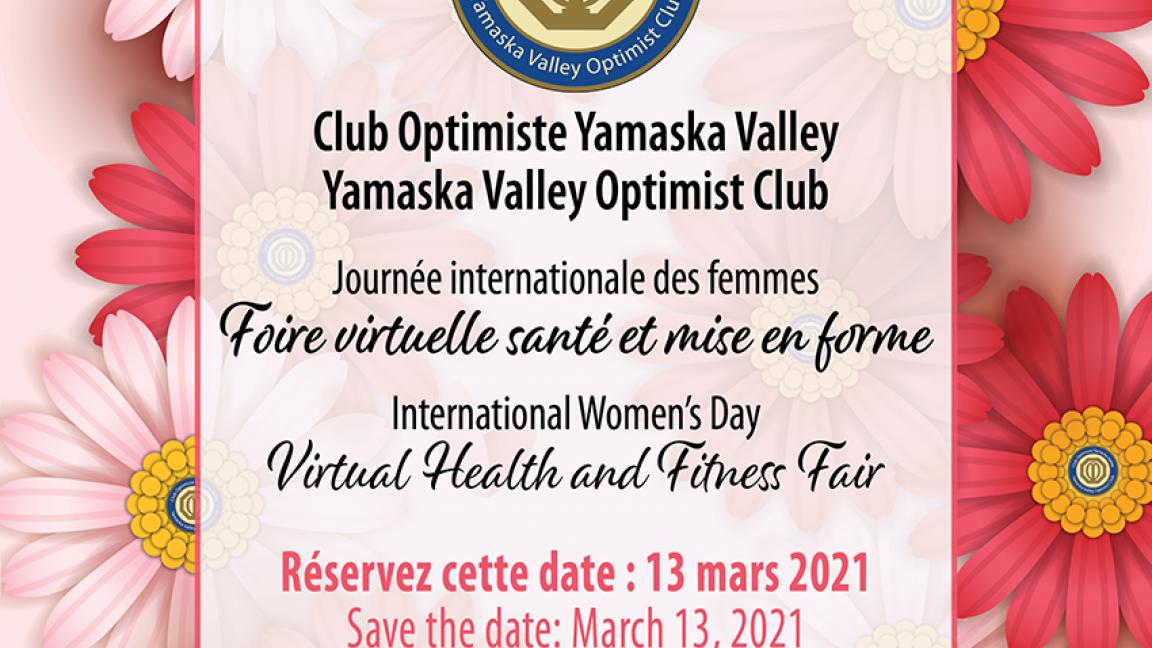 Journee Internationale des Femmes Foire Virtuelle Sante et Mise en Forme