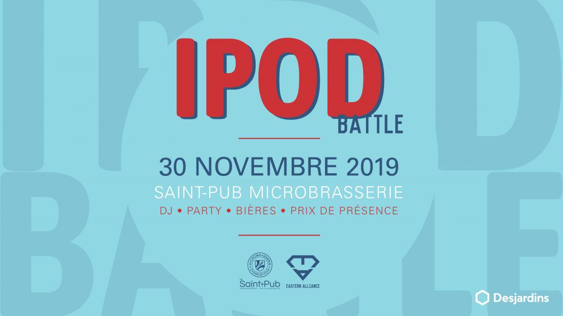 Le Légendaire Ipod Battle du Marché de Noël édition 2019
