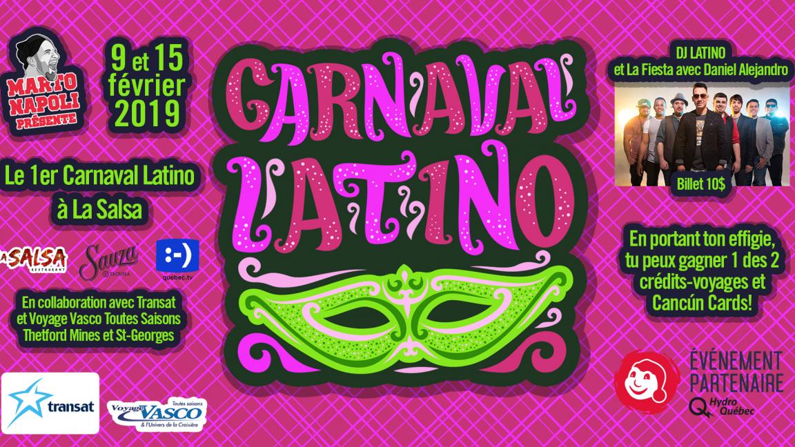 Carnaval Latino VENDREDI 15 fev.