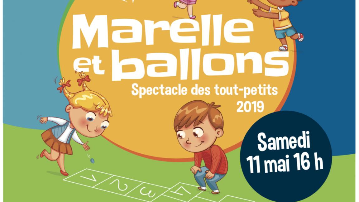 Marelle et Ballons