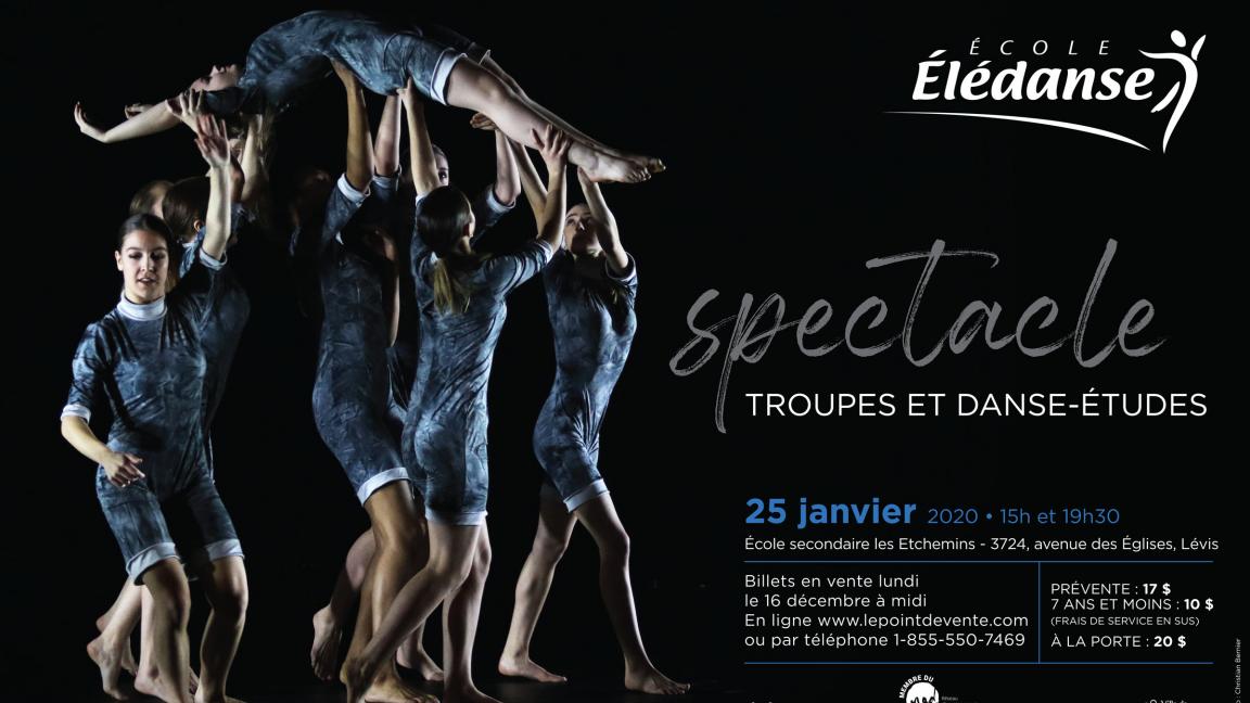Spectacle troupes et danse-études