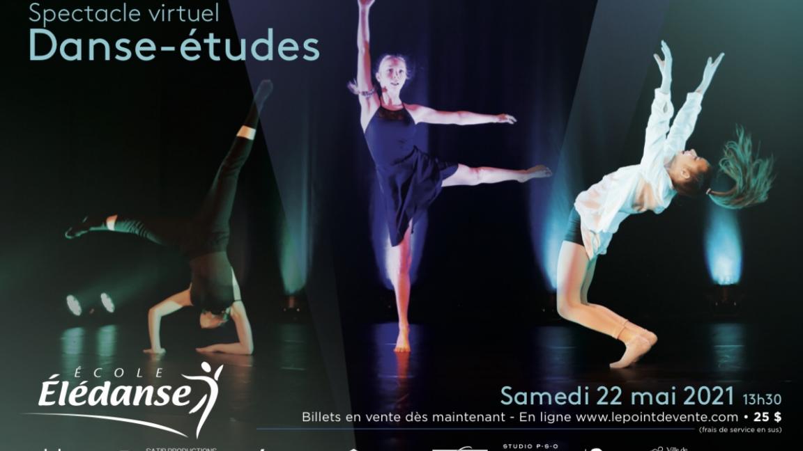 Spectacle Danse-études