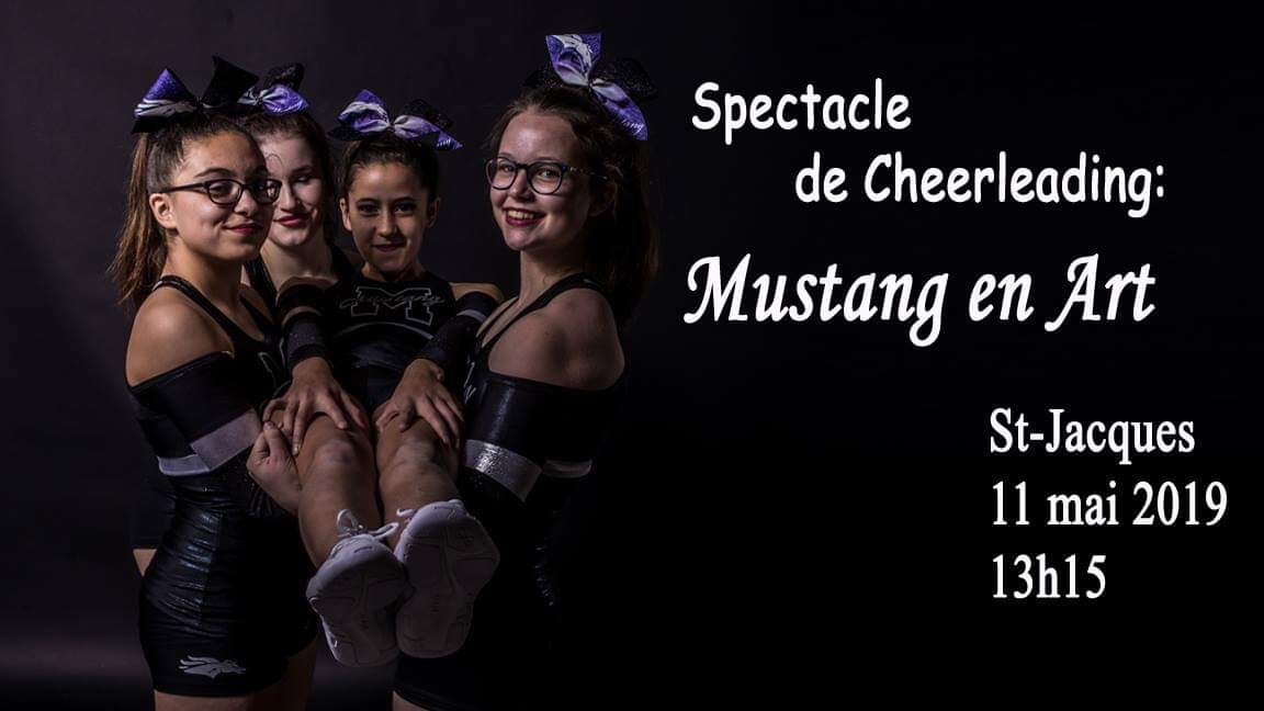 Spectacle de Cheerleading: Mustang en Art