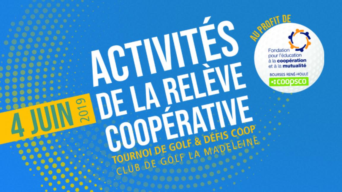 Activités de la relève coopérative 2019