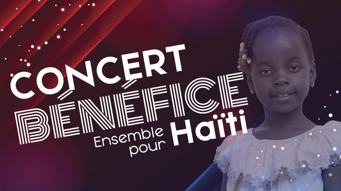 Concert bénéfice ensemble pour Haïti
