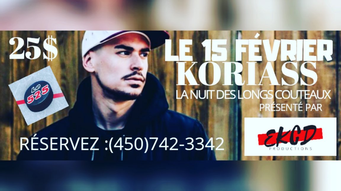 Koriass au bar le 525