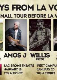 Amos J, Andy Bastarache, Willis Pride et/and Jean Seb Carre
