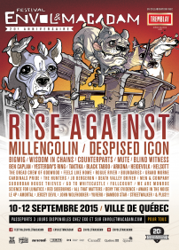 Rise Against, Millencolin, Despised Icon