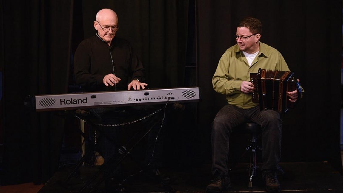 Éric Saint-Pierre, François Dumas et Michel Bois