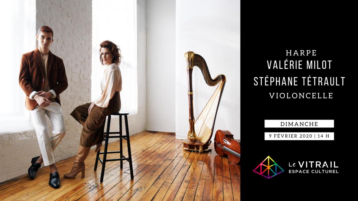 Harpe & Violoncelle