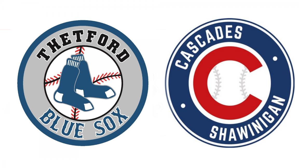 Blue Sox de Thetford Mines VS Cascades