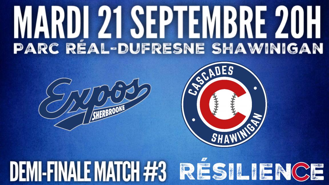 Sherbrooke VS Cascades (Match 3)