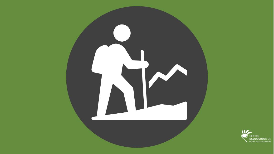 Trails access - Hiking (Season 2021)