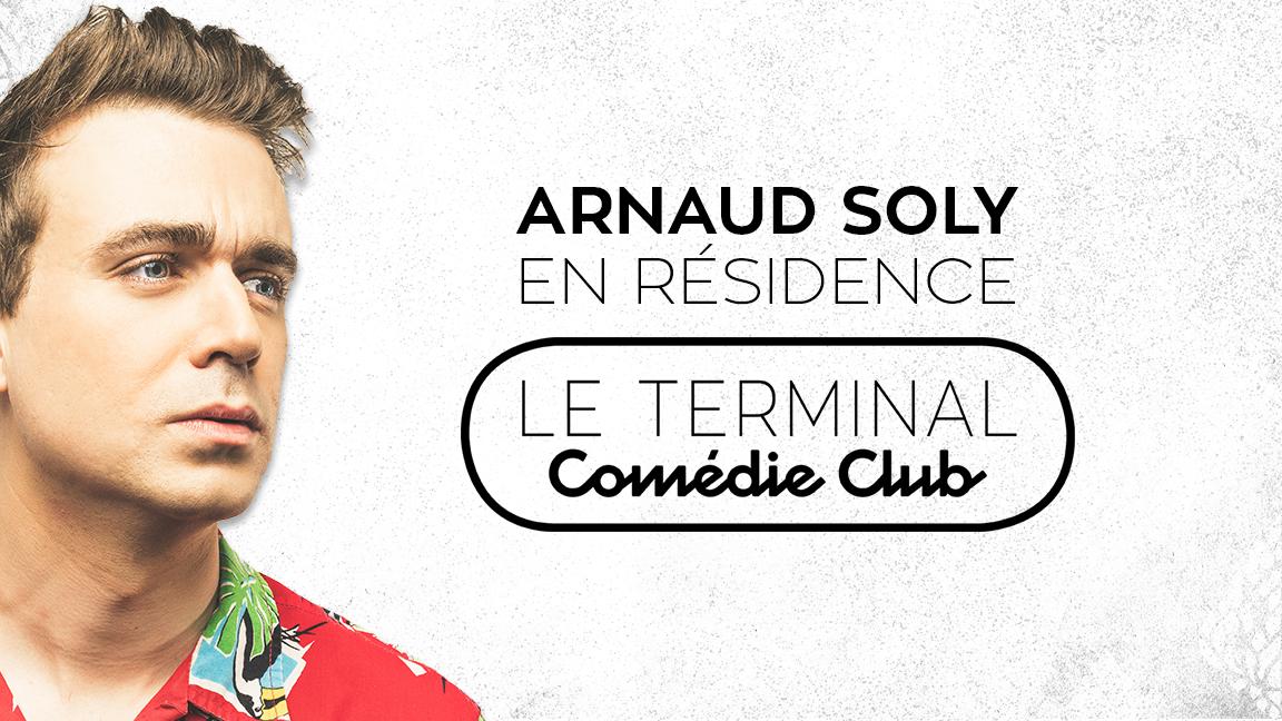 Arnaud Soly en rodage