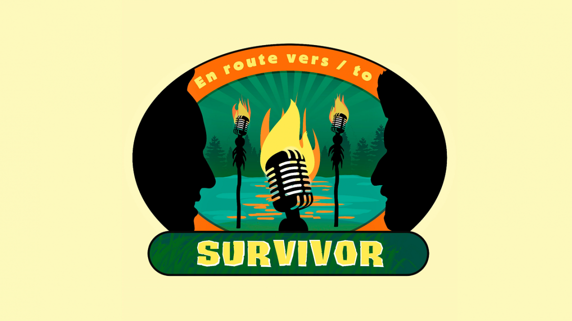 En route vers/to Survivor