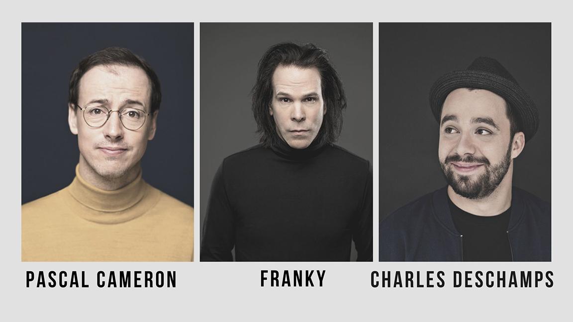 Pascal Cameron, Franky et Charles Deschamps