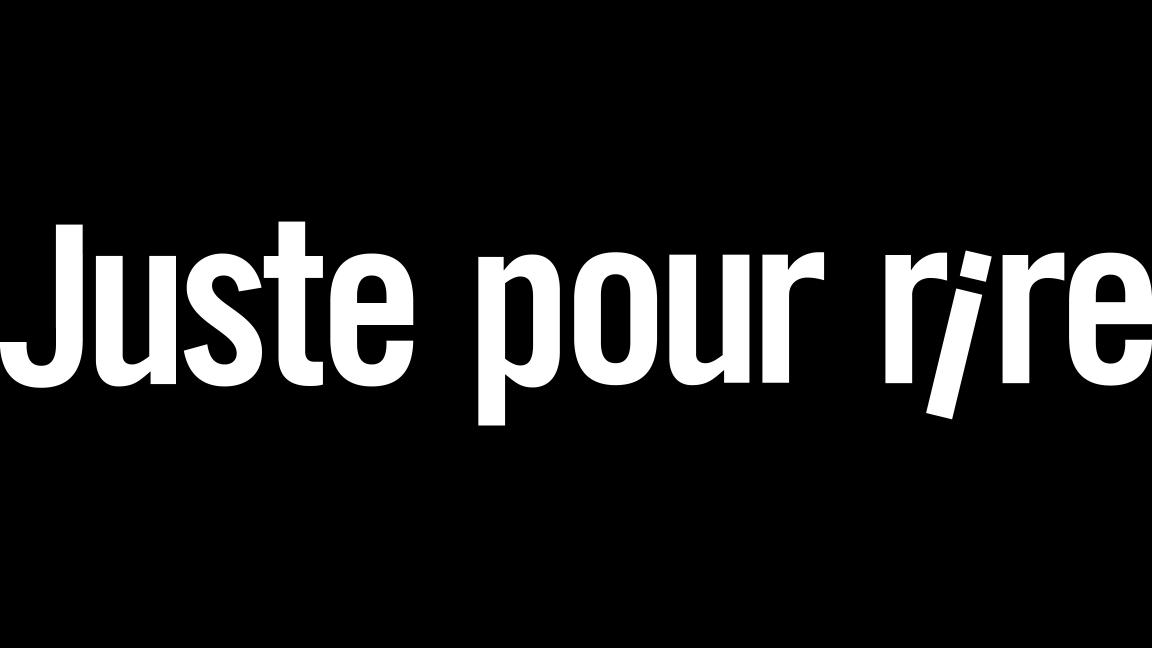 Rodage Juste Pour Rire