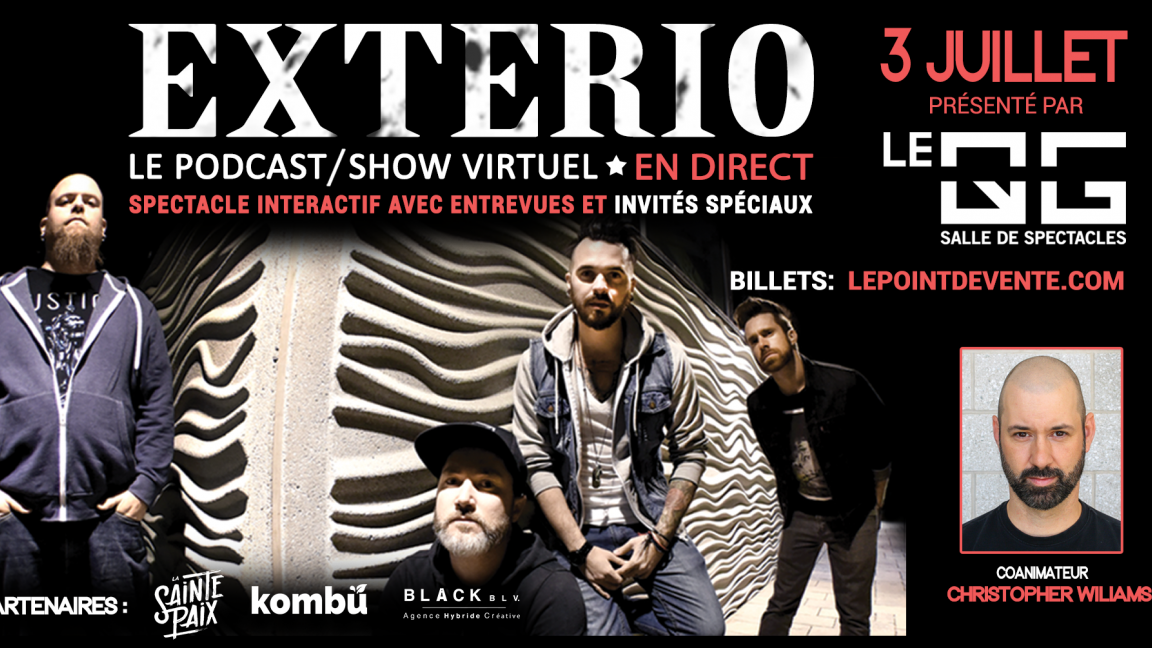 EXTERIO - Le podcast/show virtuel EN DIRECT #3
