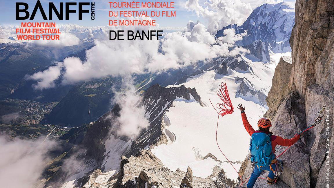 Tournée mondiale du Festival du film de montagne de Banff au Québec
