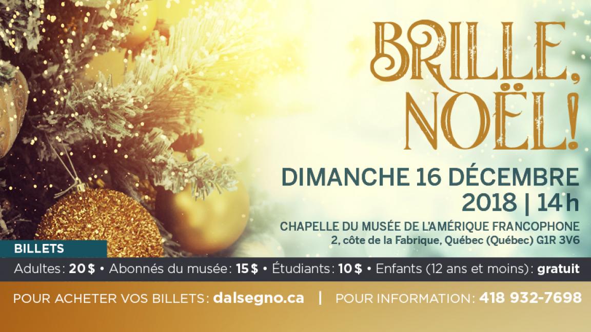 Concert «Brille, Noël!»