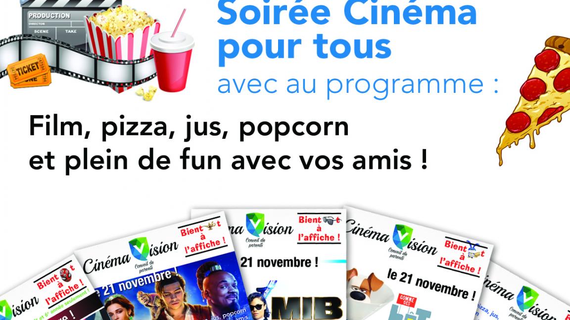 Soirée cinéma CPEVT