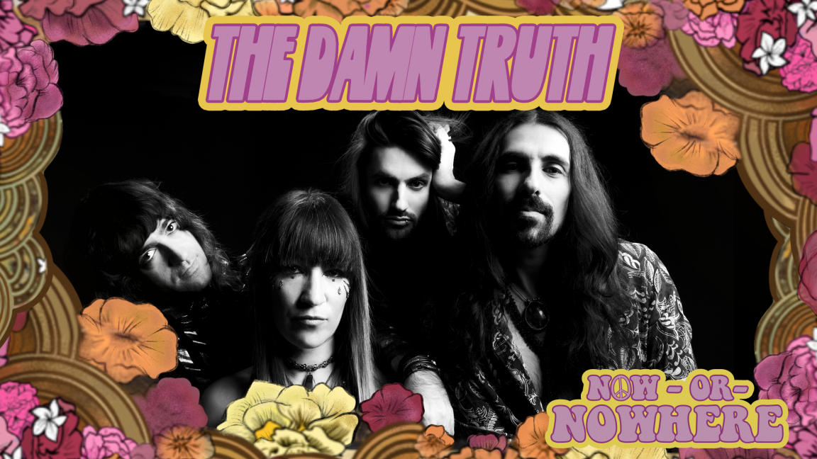 Evenko presents The Damn Truth – a virtual album release for Now or Nowhere (recorded in a church)