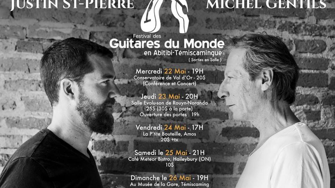 Justin St-Pierre et Michel Gentils à Rouyn-Noranda