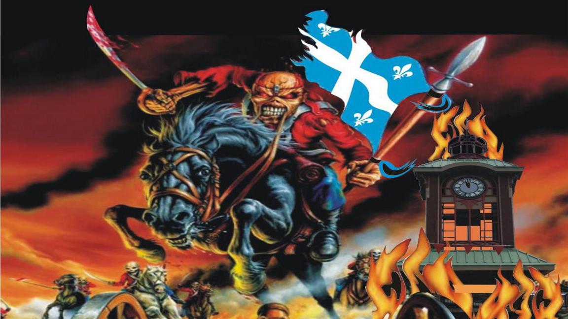 LE FESTIROCK DES ÎLES Maiden Québec