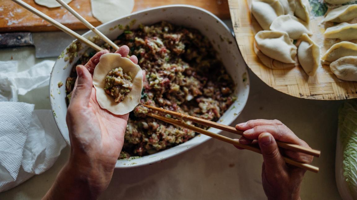 Les Dumplings par Madame Chose